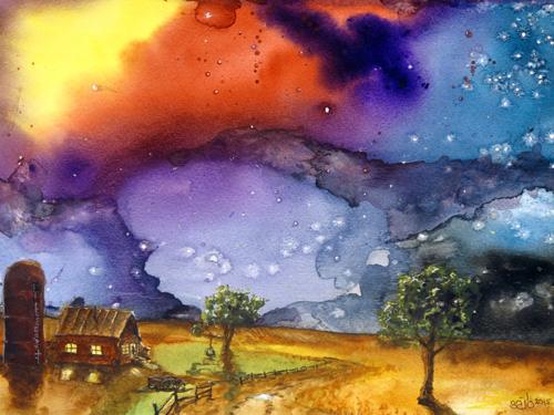 A Cosmic Evening