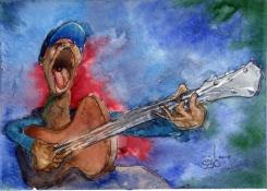 Singing Blue