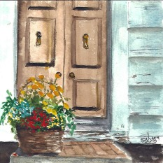 Flowers at the Doorstep